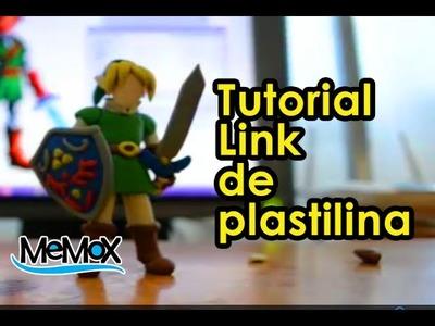 Tutorial plastilina- Como hacer a Link de Legend of Zelda figura de plasticine.How to make