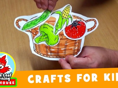 Vegetable Craft for Kids | Maple Leaf Learning Playhouse