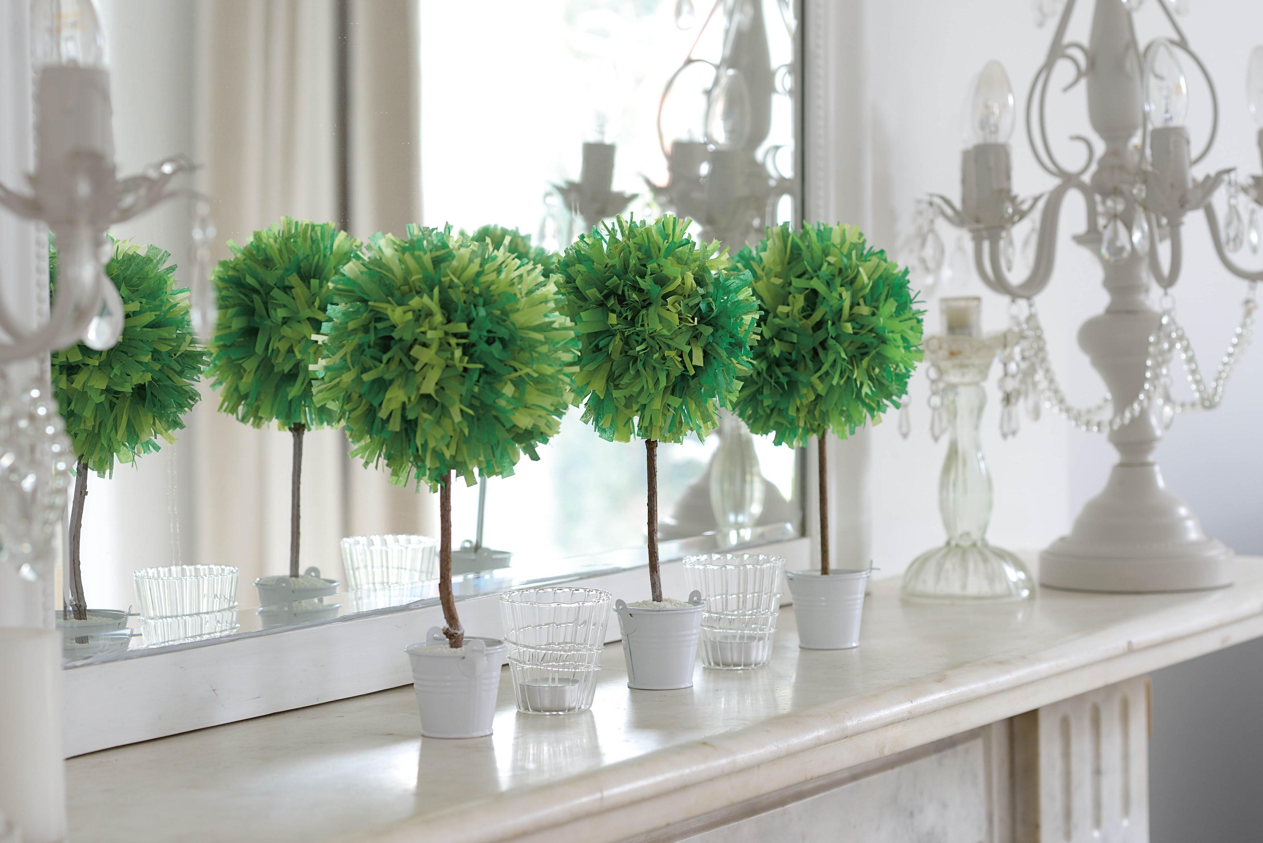 Arts Crafts _ How to Make a Paper Pom-Pom House Plant