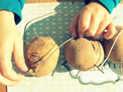 Battery from potatoes - how to generate electricity from vegetables (bonus: steel wool fireworks)