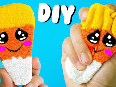 DIY CANDY CORN SQUISHY | Sensory Toys for Kids
