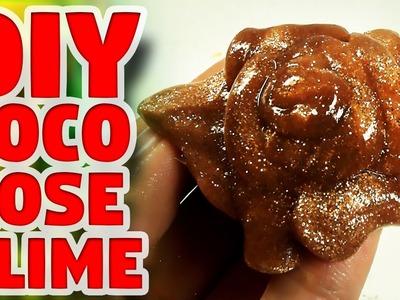 DIY COCO ROSE GLITTER SLIME [BAKING SODA RECIPE ] NO BORAX , NO LIQUID STARCH - Elieoops