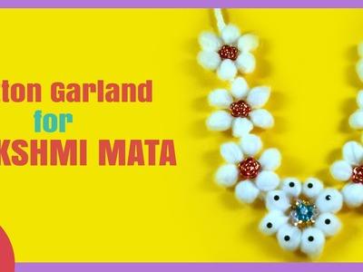 DIY - Cotton Garlang for Lakshmi MATA - Diwali Special by Sonali Bhawsar