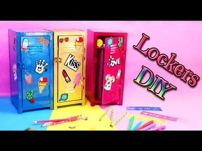 DIY Crafts for Back to School - LOCKER ORGANIZER DIY - Isa ❤️