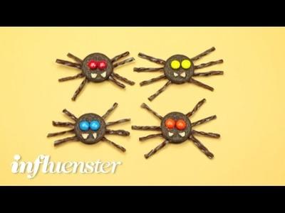 DIY   Halloween Recipe   Oreo Cookie Spiders