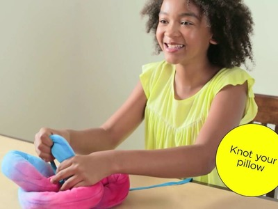 DIY Knot Pillow by Creativity for Kids