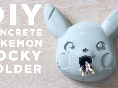DIY Pokemon Pocky Holder