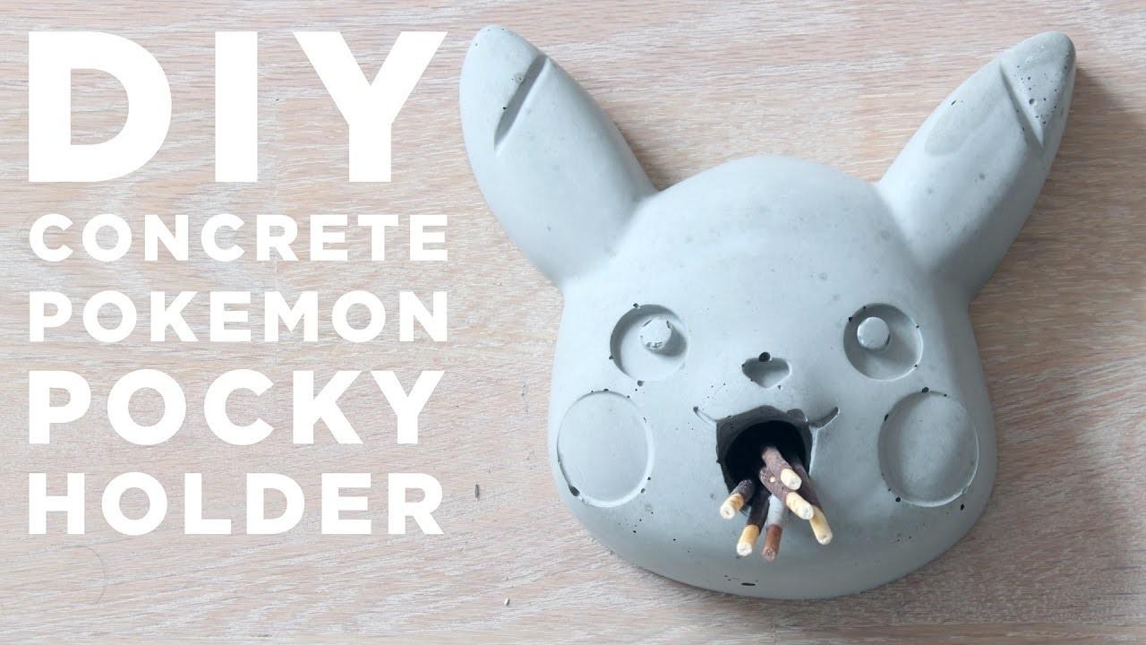 DIY Pokemon Pocky Holder