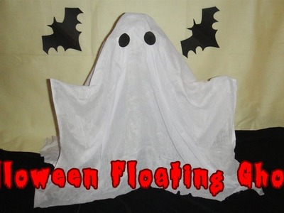 DIY Spooky and Adorable Halloween Floating Ghosts