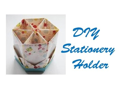 DIY Stationery Holder For Back To School | Easy DIY Holder