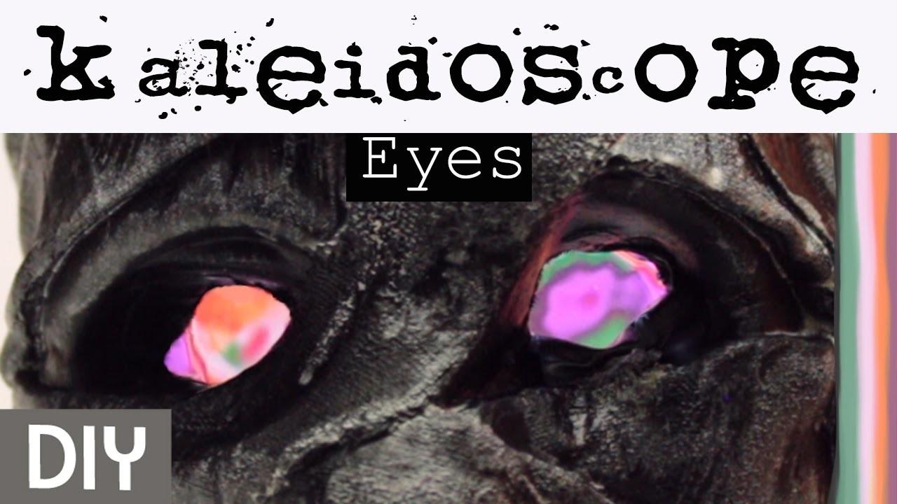 Easy DIY Optical Illusion Eyes for Halloween Decorating