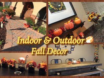 Fall Decor Ideas (Bonus footage: DIY tutorial)