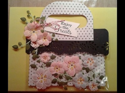 Friday Flowers: How To Make Japanese Cherry Blossoms Using Embossing Folders