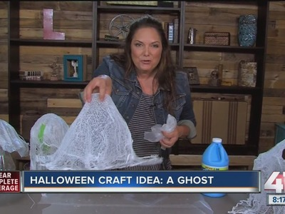 Halloween craft idea: How to make a ghost