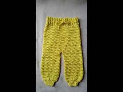 How to crochet a trousers for babies by BerlinCrochet