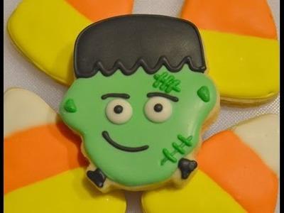 How To Decorate Frankenstein Halloween Cookies