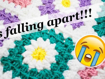 How to fix your broken afghan! - crochet Tip