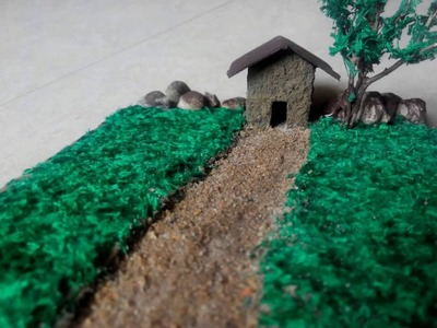 How To Make 3D Paper house