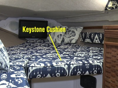How to Make a Keystone Cushion with a Backer Board