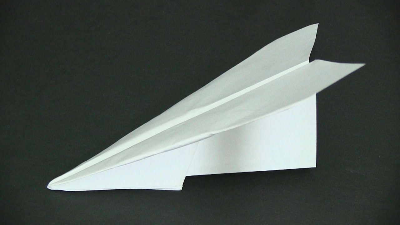 How to Make a Paper Airplane - Super Hornet
