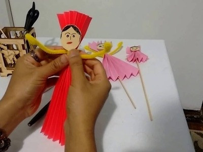 HOW TO MAKE A PAPER PUPPET  | PAPER DOLL