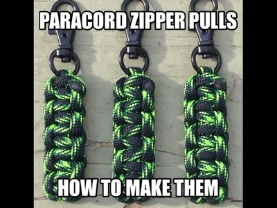 How To Make A Paracord Zipper Pull by Stockstill Outdoor Supply