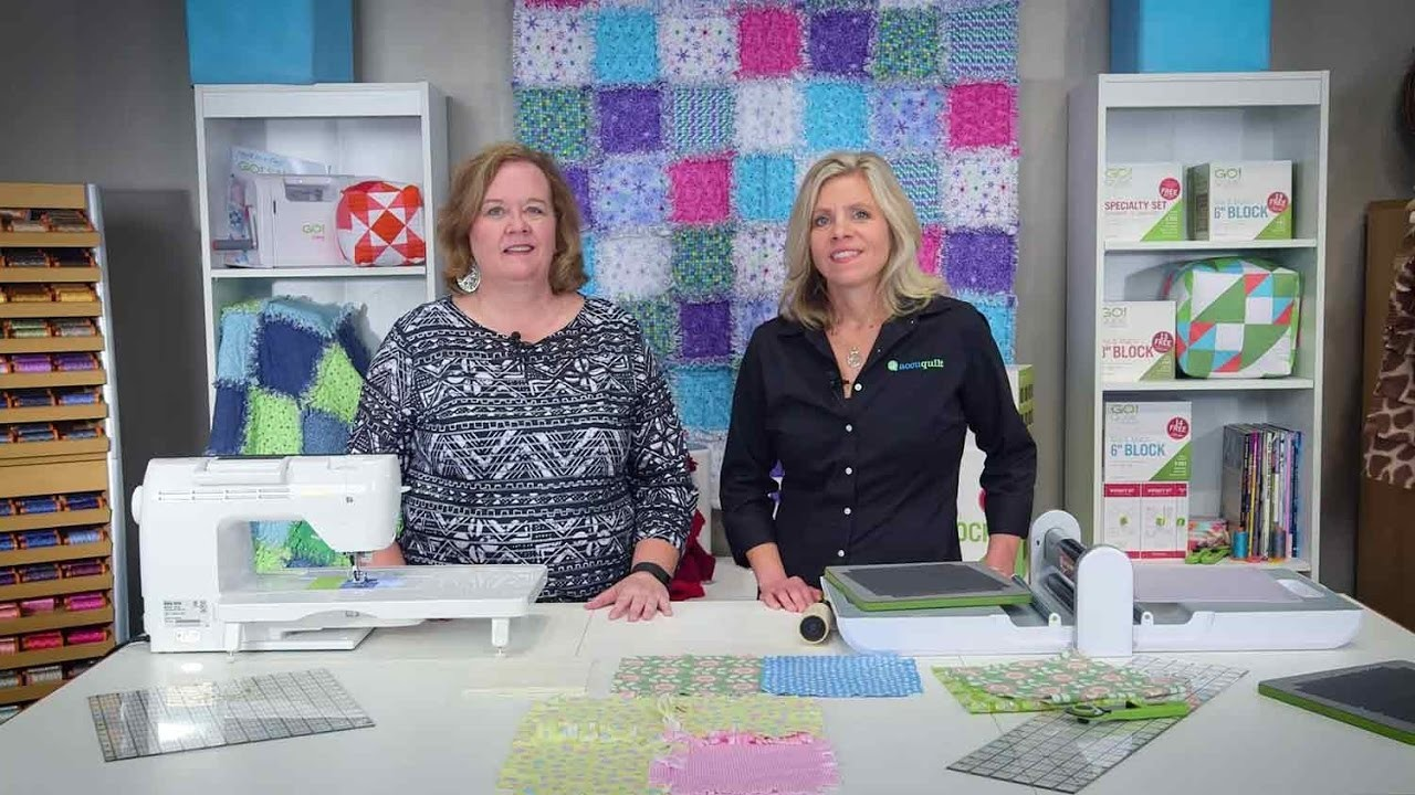 How to Make A Rag Quilt with AccuQuilt