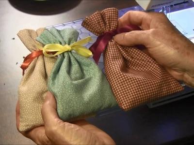 How to Make a Sachet Bag