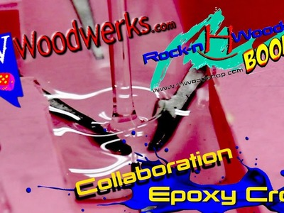 How to make an Epoxy Cross. Collab w. NV Woodwerks