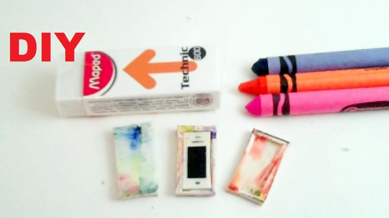 How to Make - Barbie Doll - i phone and Case (Tie - Dye)