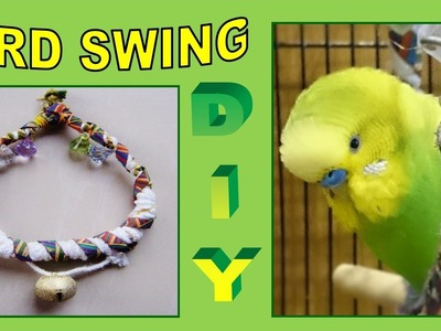 How To: Make Bird Swing | PEDRO The Budgie