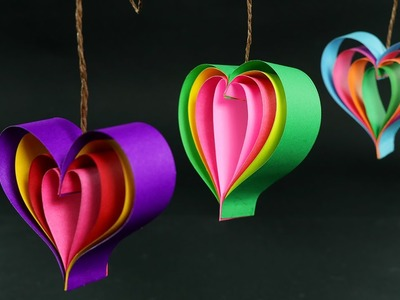How To Make Paper Hearts: Quick DIY Crafts Tutorial