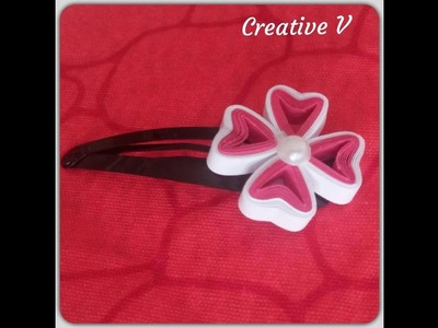 How to make Paper Quilling Flower. Design 5. Tutorial