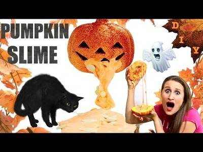 How To Make Pumpkin Slime - Halloween Themed Sensory Fun!