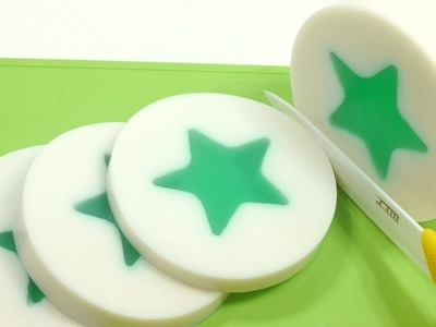 How to Make Round Star Pudding Recipe Popin Cooking Toys children songs Twinkle Twinkle Little Star