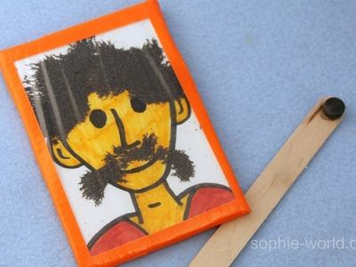How to Make Wooly Willy Werewolf | Sophie's World