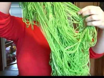 How to untangle a skein of yarn!