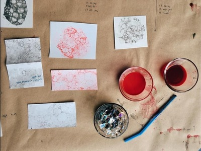 Learn How To Bubble Print