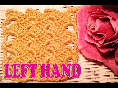 **LEFT HAND** Building Blocks Crochet Fabric Stitch