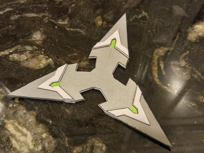 [Overwatch] How to Make Genji's Shurikens