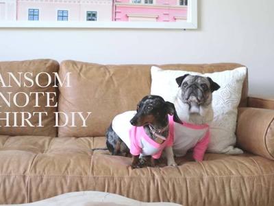 Ransom Dog T-Shirt DIY