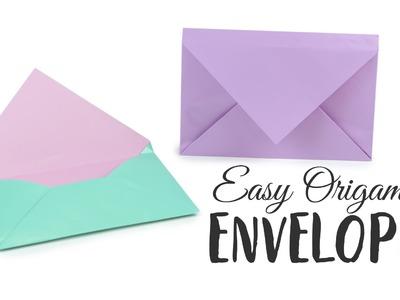 Super Easy Origami Envelope Tutorial