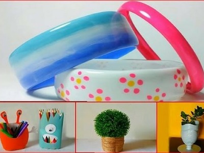 10 DIY Awesome Ways to Recycle or Reuse Plastic Bottles #2 | Life Hacks | Recycled Plastic Crafts