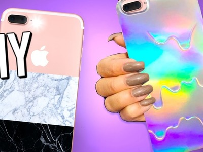 7 DIY iPhone cases you NEED to try! DIY phone cases!
