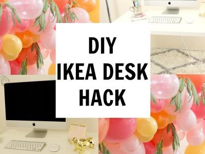 AFFORDABLE DIY- IKEA DESK HACK
