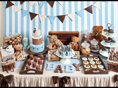 BABY SHOWER NIÑO | 2016 | BOY |DIY | MESA DE DULCES | FIESTA | IDEAS | NIÑO