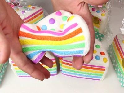 Chawa Rainbow Cake Squishy!