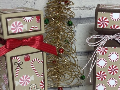Crafty Christmas Countdown #5 - Half Cracker using Candy Cane Lane DSP
