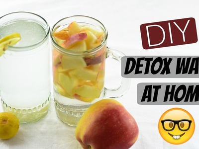 DIY Detox Water | After Workout Drinks For Clear Skin And Fit Body