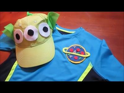 DIY Disney Toy Story Alien Costume | Disneybound Pizza Planet MNSSHP Halloween